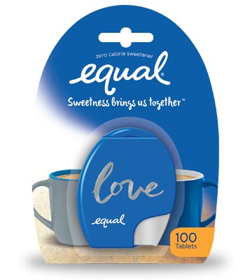 equal sweetener tablets