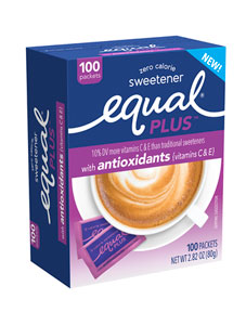 EQUAL PLUS ANTIOXIDANTS (VITAMINS C & E)
