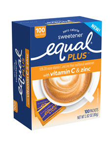 EQUAL PLUS VITAMIN C & ZINC